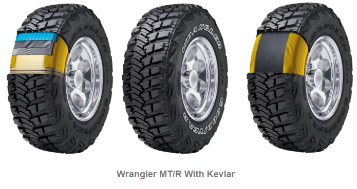 Wrangler MTR With Kevlar