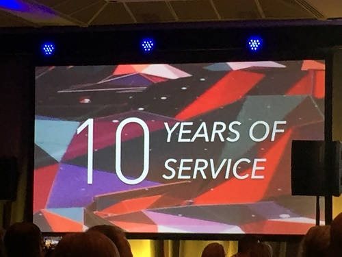 10 Years of Service Awards